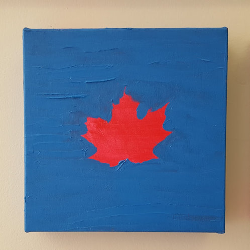 """""""Red on Blue"""" by James C E Lightle"""