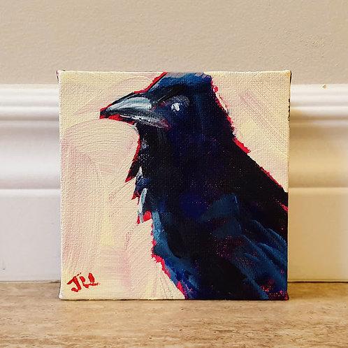 Raven Pose by Jaime Lee Lightle