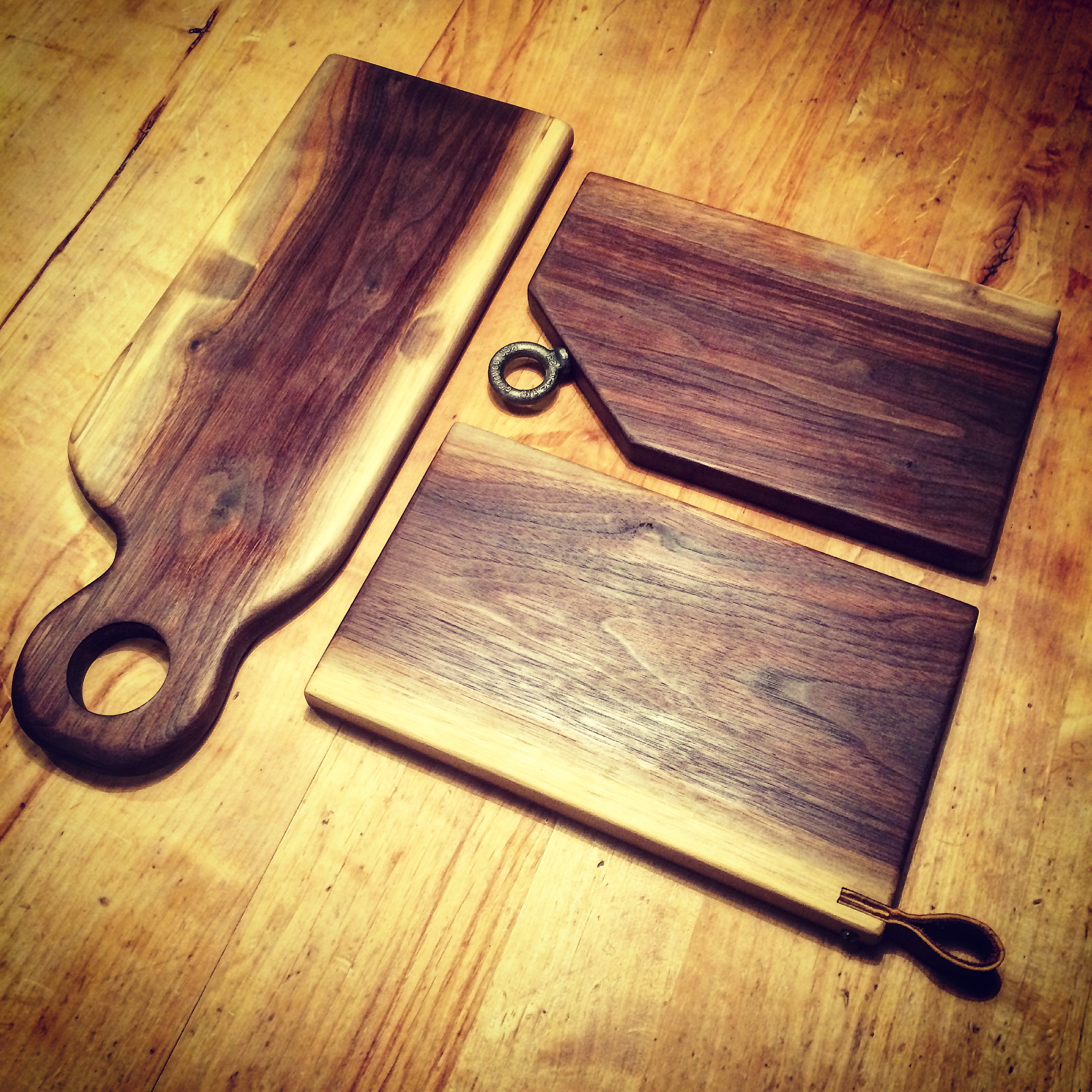 Black Walnut Serving Boards