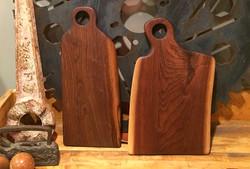 Custom Walnut Serving Boards