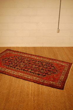 Antique Mosul Hand Woven Rug