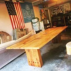 Reclaimed Cedar Outdoor Dining Table