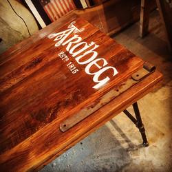 Reclaimed Oak Ardbeg Bar Table