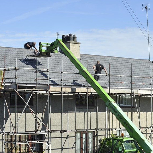 domestic scaffolding-manchester