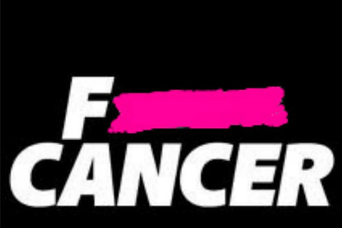 F CANCER W/TAPE (DIFFERENT COLOR TAPE)