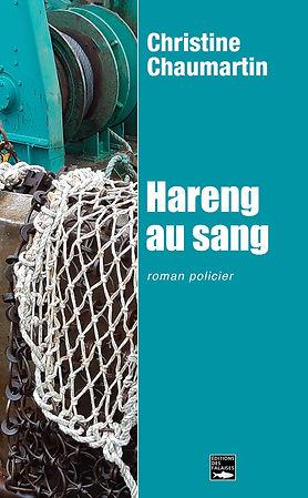 couverture Hareng au sang de Christine Chaumartin - roman policier