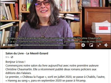 """Salon virtuel de Mesnil-Esnard """"Édite-le avec des livres"""""""