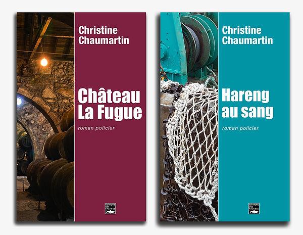 hareng au sang roman policier auteure Christine Chaumartin, château la fugue polar