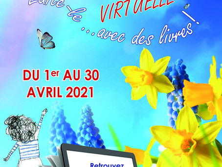 Le Mesnil-Esnard : la 4e édition du salon du livre sera virtuelle.