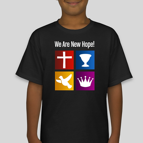 Youth Boy's We Are New Hope T-Shirt