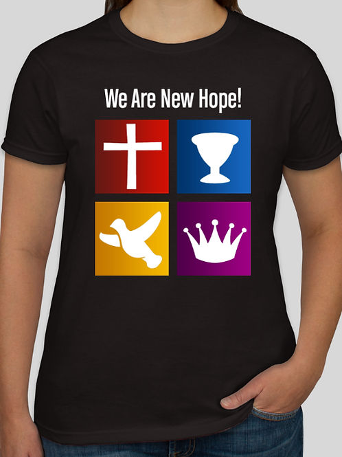 Women's We Are New Hope Logo T-Shirt