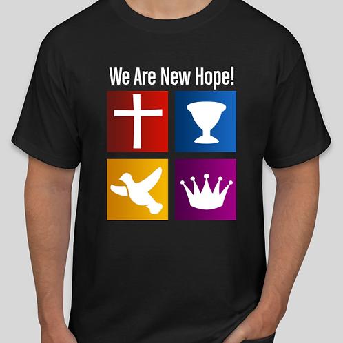 We Are New Hope  Full LOGO  - Short-Sleeve Unisex  T-Shirt