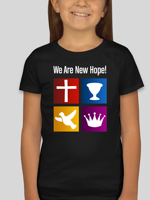 Youth Girl's We Are New Hope T-Shirt