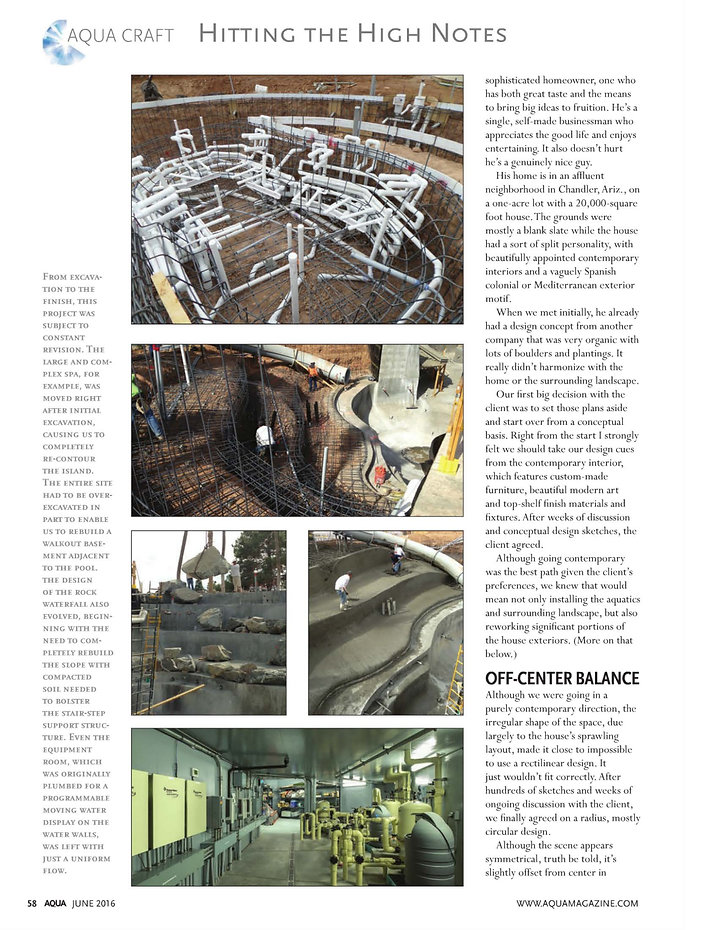 Page 5 Aqua Magazine - June 2016