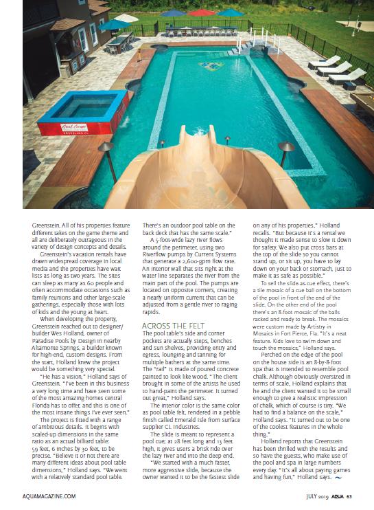 Page 2 AQUA Magazine - July 2019