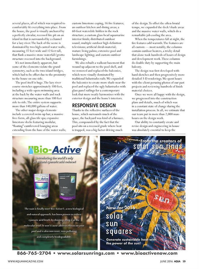 Page 4 Aqua Magazine - June 2016