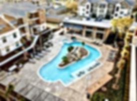 video of swim jets and lazy river pumps in action at Mission Hill Apartments Lazy River in Texas