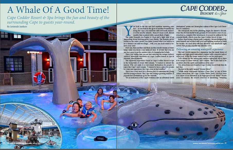 Page 1 World Waterpark Magazine - January 2017
