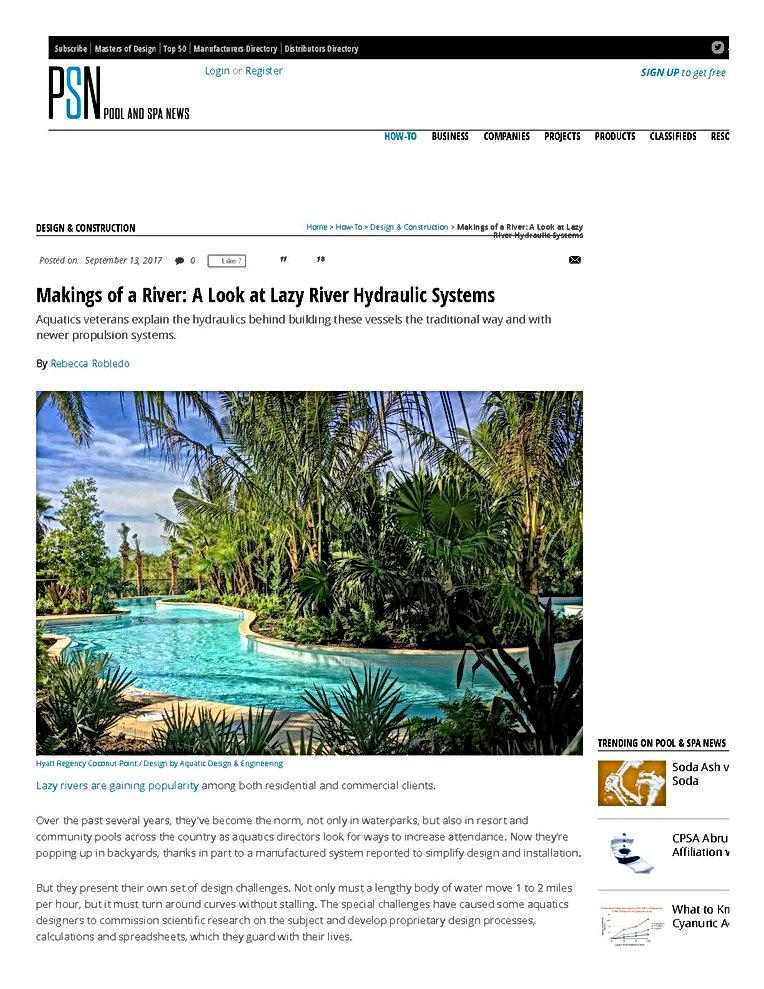 Page1 Pool Spa News - September 2017
