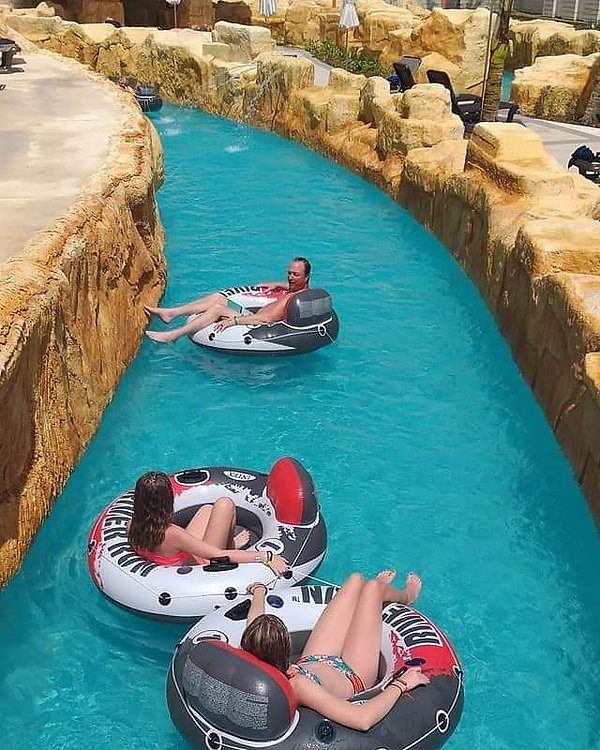 image of lazy river pumps and swim jets