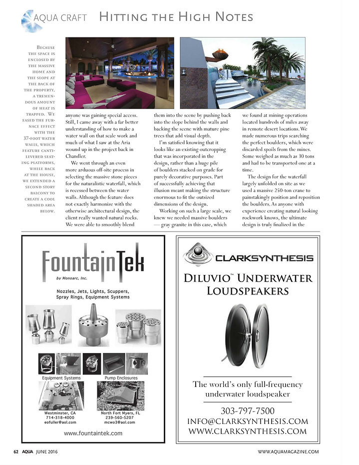 Page 2 Aqua Magazine - June 2016