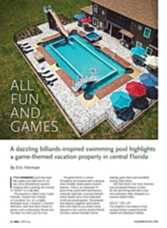 Page 1 AQUA Magazine - July 2019
