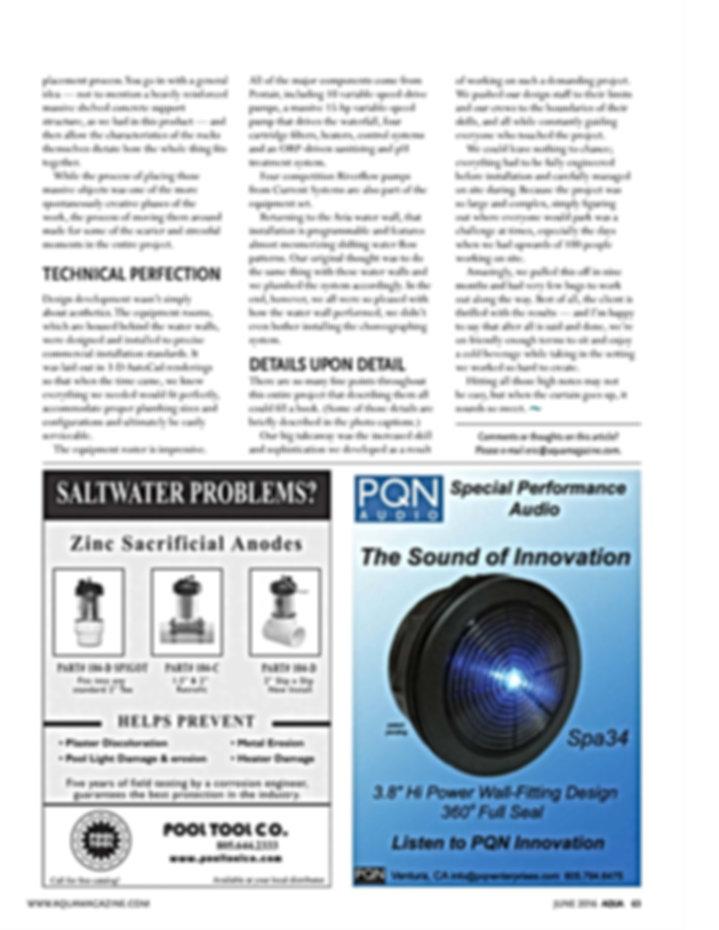 Page 3 Aqua Magazine - June 2016