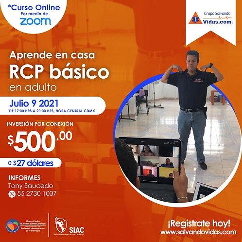 Curso Online de RCP básico