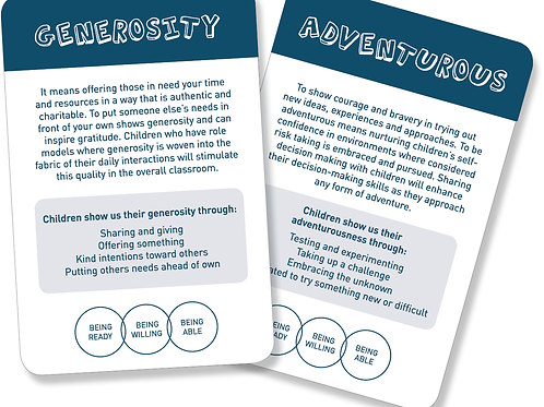 Learning Disposition Cards
