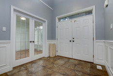 026 Foyer with French Doors to Den