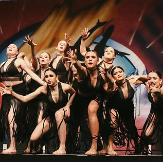 "Fire and Ice 1st Overall Senior Large Group Borelli's Dance Gallery ""Nothing Stays the Same"""