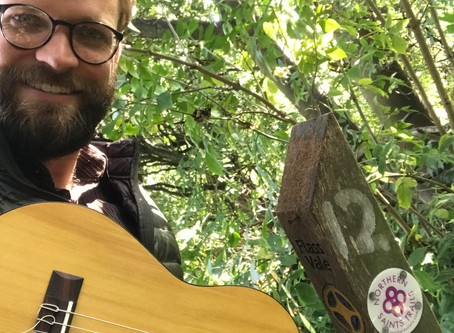 Songs along a trail - exploring the Northern Saints Trails
