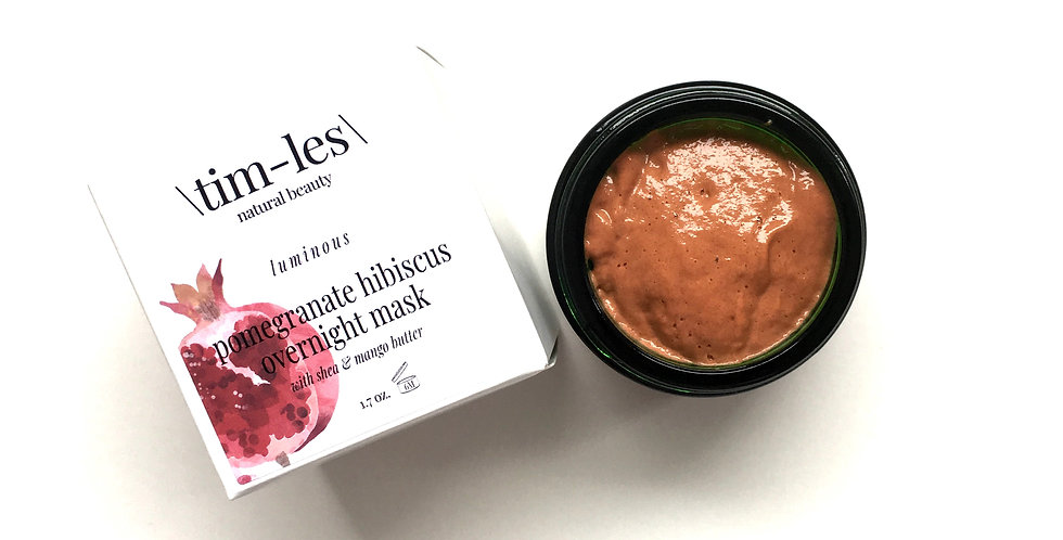 pomegranate hibiscus overnight mask