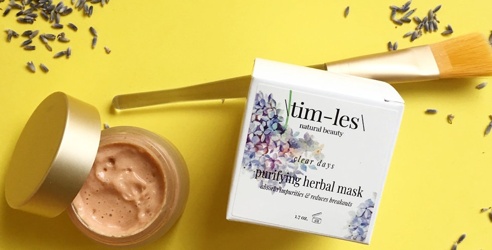 purifying herbal mask