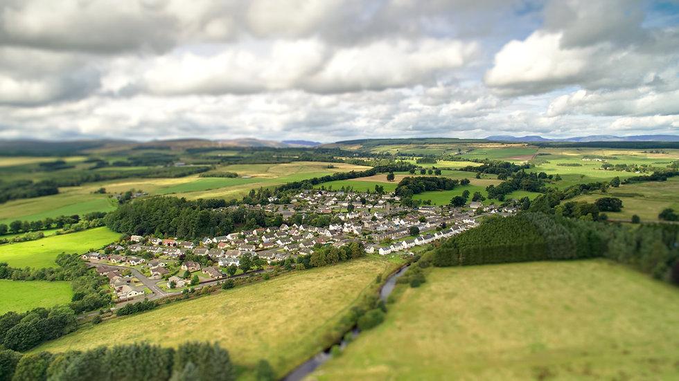 Braco Scotland Dunblane Aerial Dromne CAA PFCO Propfessional Property Photographer
