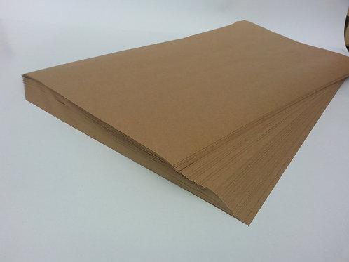 Бумага крафт в листах