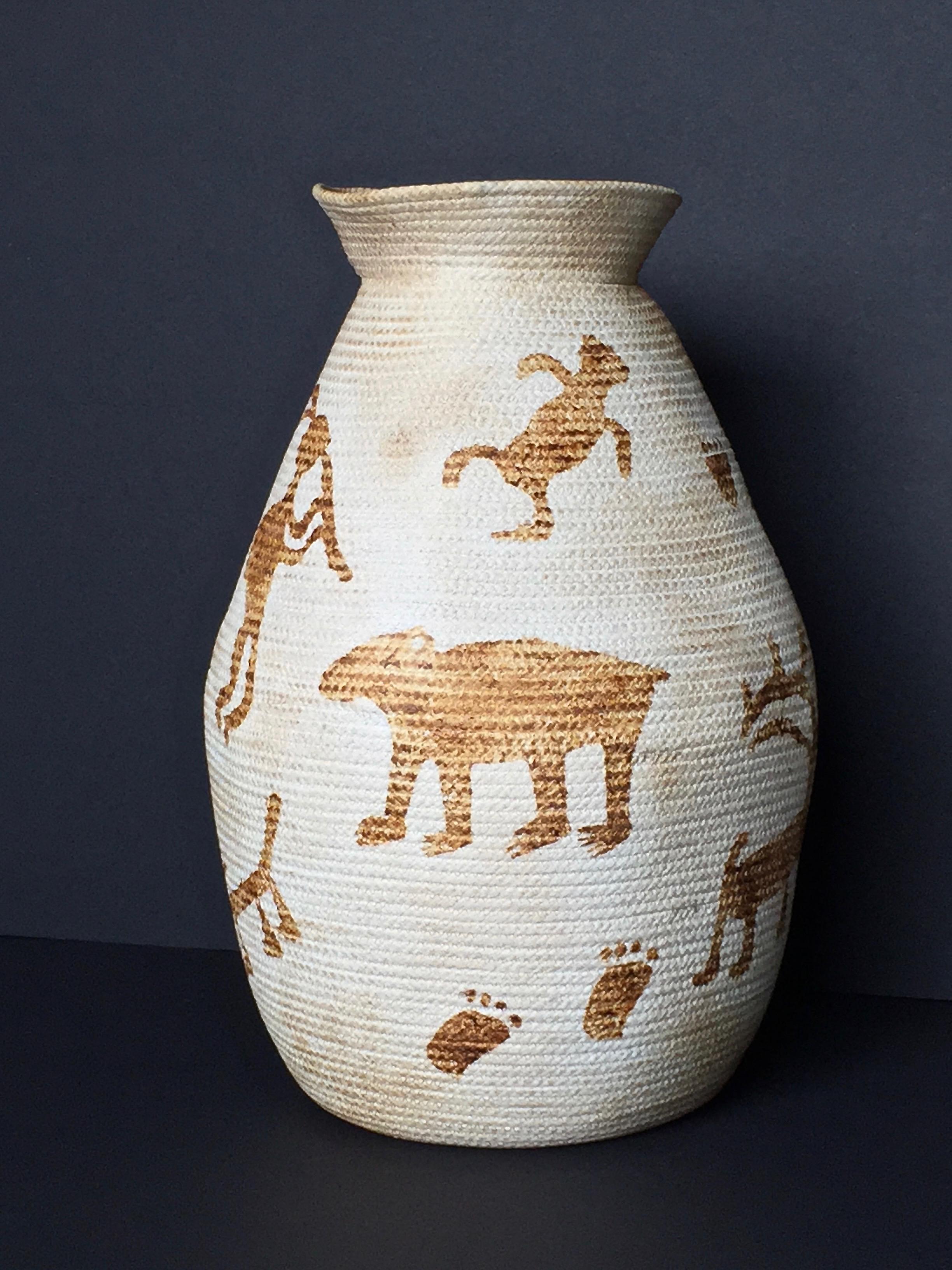 Petroglyph Urn
