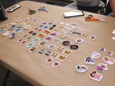 ¡Amamos las stickers!