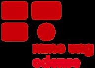 Mino Ung Odense logo Rød tekst transpare