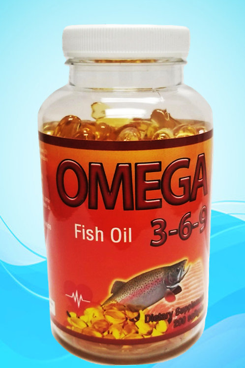 OMEGA 3-6-9 200 SOFTGELS