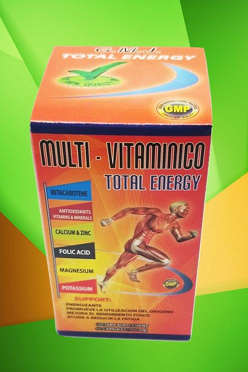 MULTI VITAMINICO TOTAL ENERGY