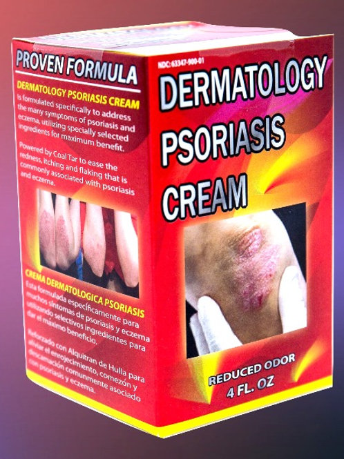 Dermatology Psoriasis Cream 4 oz