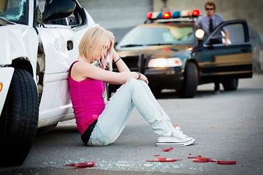 Teen driver crash