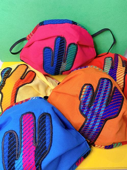 Cactus Serape Face Mask