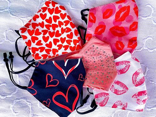 Valentine's Day Face mask