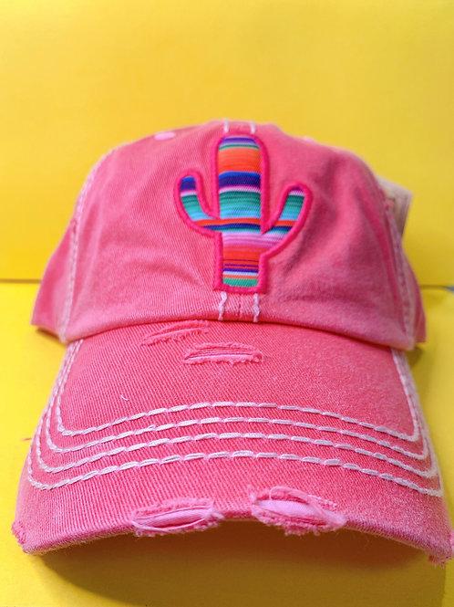 Serape Cactus Hat