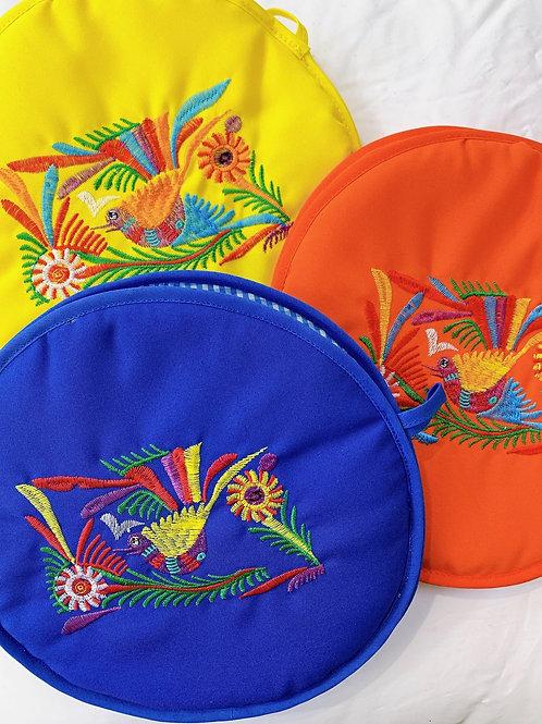 Embroidered Tortilla Warmer