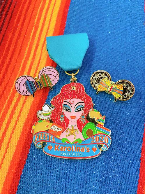 Karolinas 2020 Fiesta Medal