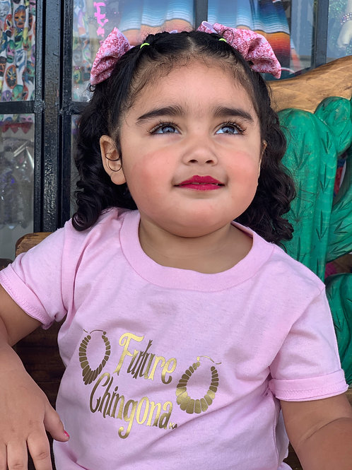 Future Chingona toddler tee