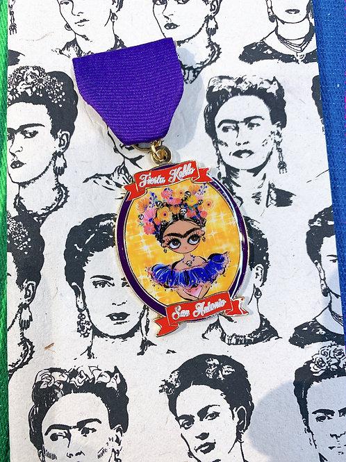 Fiesta Kahlo Fiesta Medal